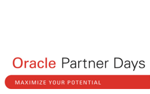 WMC sponsert Oracle Partner Day